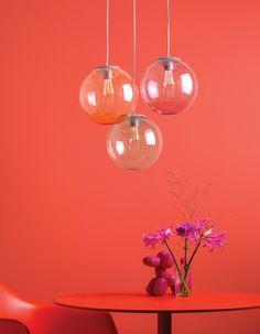 Lampa wisząca Spheremaker 3 marki Fatboy Lumiere Led, Led Lampe, Kugel, Indoor, Ceiling Lights, Inspiration, Home Decor, Dark Grey, Ideas