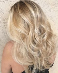 36 Beautiful Blonde Balayage Hair Color Ideas For Summer Sparkle Blonde hair models – Hair Models-Hair Styles