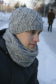 This beanie and scarf will be sure to keep its wearer cosy all Winter long.