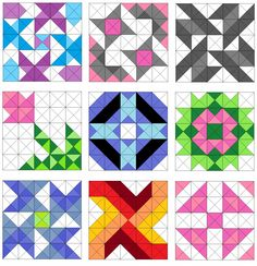 Easy Triangle Quilting Patterns