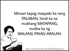 Parang ikaw lang Tes oh 😜 Funny Hugot Lines, Hugot Lines Tagalog Funny, Tagalog Quotes Hugot Funny, Funny Qoutes, Tagalog Quotes Patama, Pinoy Quotes, Tagalog Love Quotes, Bisaya Quotes, S Quote