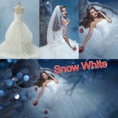 Disney Wedding dresses- Snow White