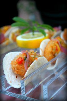 mini fish tacos catering by liz grenamyer jacksonville fl