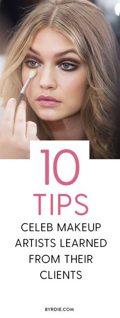 The best celebrity makeup artist tips