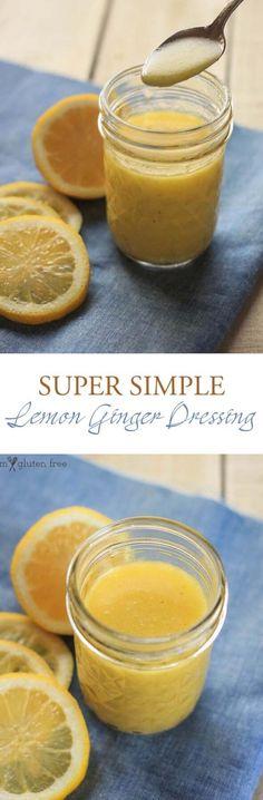 Paleo Lemon Ginger S  Paleo Lemon Ginger Salad Dressing Recipe  https://www.pinterest.com/pin/538039486724454988/