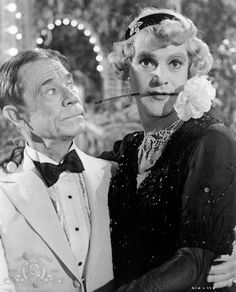"Still of Jack Lemmon and Joe E. Brown in ""Some Like It Hot"" 1959"