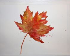 Vickie's Sketchbook: Fun with Fall Leaves