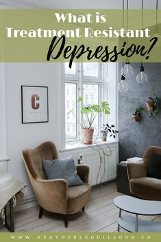 Some individuals experience the symptoms of depression throughout their lives that is resistant to treatment such as antidepressants or ongoing therapy and this is referred to as Treatment Resistant Depression (TRD). Causes Of Depression, Fighting Depression, Dealing With Depression, Depression Help, Overcoming Depression, Depression Treatment, Psychology