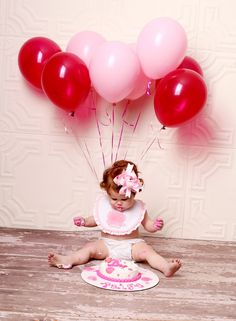 1st Birthday Photo Shoot!