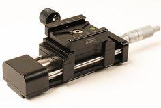 New Hejnar PHOTO Linear Motion Micrometer Macro / Micro Rail