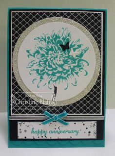 HAPPY HEART CARDS: JAI #181: STAMPIN' UP!'S BLOOMING WITH KINDNESS ANNIVERSARY CARD