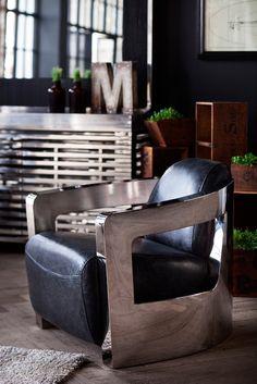 Timothy Oulton Mars Chair - H.D. Buttercup