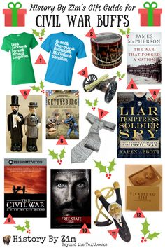 Gift guide for the Civil War buff on your list! Battle Of Cold Harbor, Gifts For History Buffs, History Major, Civilization, Gift Guide, Best Gifts, War, Wrapping Ideas, Shots