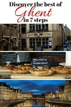 Discover the best Ghent (Belgium) has to offer in 7 easy steps More