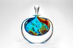 Lagoon Perfume Bottle by Peter Layton