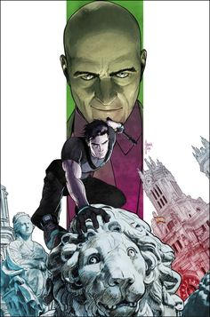 GRAYSON #10 Written by TOM KING and TIM SEELEY Art and cover by MIKEL JANIN