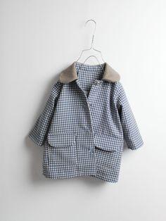 Mini wool coat