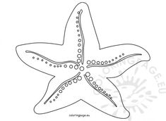Starfish Coloring Pages To Print Summer Coloring Pages, Coloring Pages To Print, Summer Colors, Bingo, Starfish, Art, Summer Time, Art Background, Kunst