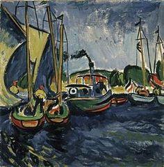 Hafen - Max Pechstein
