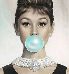Haute Tramp — victorielle: Tiffany Blue by Michael...
