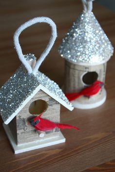 DIY BIrdhouse Ornament (directions)