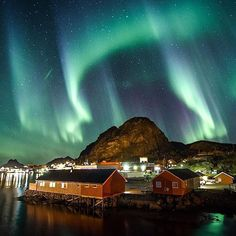 Photo by @carinanorway Stamsund Lofoten, Norway #ilovenorway