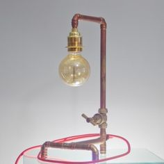 Steam Punk Table/Desk Lamp UK #lighting #table #rusty #desado.com