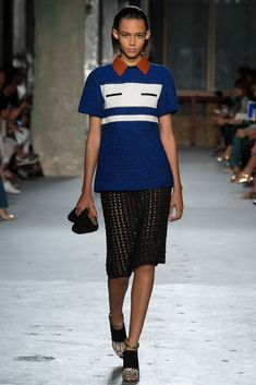 Proenza Schouler Spring 2015 Ready-to-Wear Fashion Show Collection