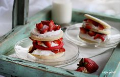 Sugar Cookie Strawberry Shortcake - why haven't I thought of this.  This is a good possible Mother's Day treat.