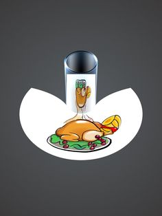3d Sketch, Anamorphic, Illusion Art, Happy Thanksgiving, Itunes, Illusions, Celebration, Apple, Dinner