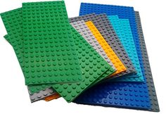 Toy Building Blocks - Bag of 12 Assorted Large Base Plates - Tight Fit and Compatible with Lego Mountain Reliable Products. http://www.amazon.com/dp/B014HNXWNW/ref=cm_sw_r_pi_dp_pVB1wb1VHEQM1