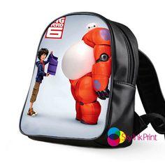 disney big hero 6 baymax School Bag