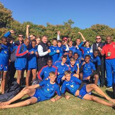 We would like to congratulate our Limpopo Blue Bulls Craven week team for conquering Border 34 - 0 today in the Paarl! Sports, Blue, Hs Sports, Excercise, Sport, Exercise