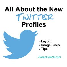 All about the new Twitter profiles, image dimensions, layout and tips. #Twitter #SocialMedia #SocialMediaTips http://proactiveva.com/964/new-twitter-profiles-image-dimensions/