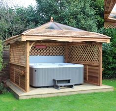 Gazebo Ideas For Hot Tubs