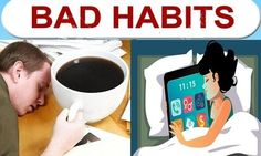 You will not believe that these 5 habits make you feel tired