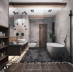 """""""Browse photos of Small Bathroom Tile Design. Find suggestions and inspiration for Small Bathroom Tile Design to enhance your house. Interior Design Minimalist, Contemporary Interior Design, Modern Bathroom Design, Bathroom Interior Design, Bath Design, Spa Design, Interior Modern, Minimal Bathroom, Tile Design"""