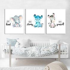 Safari Baby Animals Canvas Posters – My Urban One Safari Nursery, Nursery Prints, Nursery Wall Art, Baby Room Wall Decor, Kids Room Wall Decals, Zebra Pictures, Room Posters, Canvas Poster, Baby Bedroom