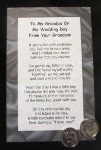 Wedding Gift For Granddaughter : ... Gifts on Pinterest On your wedding day, My wedding day and Poem