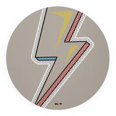 Miroir mural Eclair Seletti - Multicolore | Made In Design