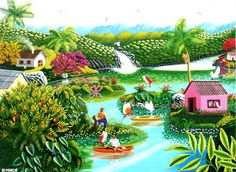 421 Best Art Naive Tropical Images On Pinterest Art