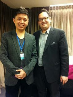 With new buddy, Dr Edmund aka  footcare expert in School of Charisma