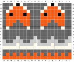 Excellent Free knitting charts fox Tips Knitting Socks Fox Free Pattern Ideas Tejido Fair Isle, Punto Fair Isle, Motif Fair Isle, Fair Isle Chart, Baby Knitting Patterns, Knitting Charts, Knitting Stitches, Knitting Socks, Stitch Patterns