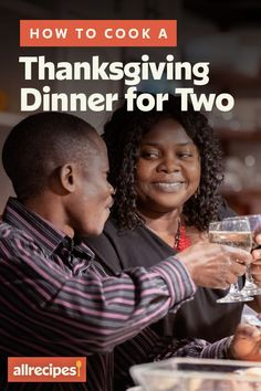 """How to Cook a Thanksgiving Dinner for Two 