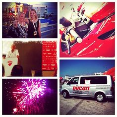 #worldducatiweek was more than just a chance for Ducati fans to connect - it was a way to celebrate the entire brand, its employees, its devotion to helping earthquake victims of Emilia Romagna, and it was a chance to make new Ducati fans like us - Instagram by @poohstraveler
