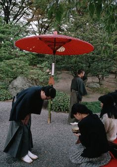 Bowing at Tea Ceremony - Japan