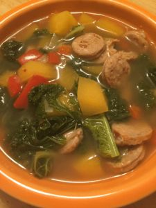 Kale and Turnip Soup