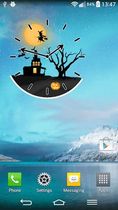 "Enjoy the night of horror, mystery and monsters with Halloween Clock Widget - try any of the ""pumpkin faces"" with devilish grins and you will feel the blood chill in your veins. Enter the ""haunted house"" and pick your favorite custom – made ""analogue clock"" inspired by cool Halloween decorations and scary pics for free. ""Halloween horror nights"" bring the ominous mystery of the unknown and the feeling of exhilaration in your guts - ""set an alarm"" and prepare to be spooked! Choose your…"