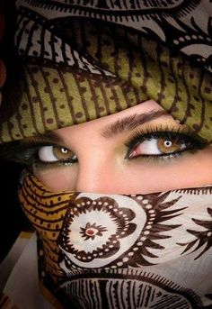 Hijab Girls Eyes