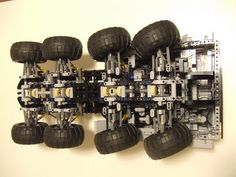 Lego Technic MAZ-537  by MS09_Dom, via Flickr Minecraft Brick, Lego Minecraft, Lego Moc, Legos, Lego Technic Truck, Mobiles, Lego City Train, Lego Tree, Lego Kits